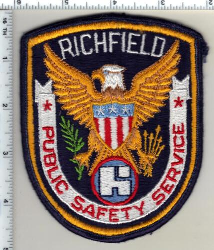 Richfield Public Safety Service (Minnesota)  Shoulder Patch  - new from 1991