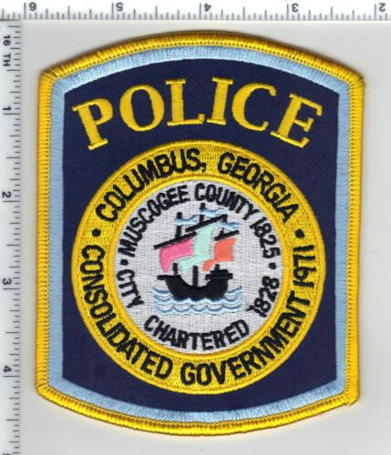 Columbus Police (Georgia) 4th Issue Shoulder Patch