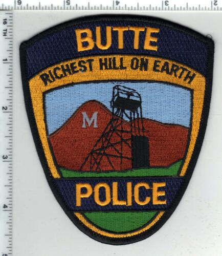 Butte Police (Montana) 4th Issue Shoulder Patch