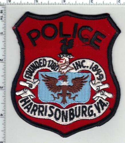 Harrisonburg Police (Virginia) 2nd Issue Shoulder Patch