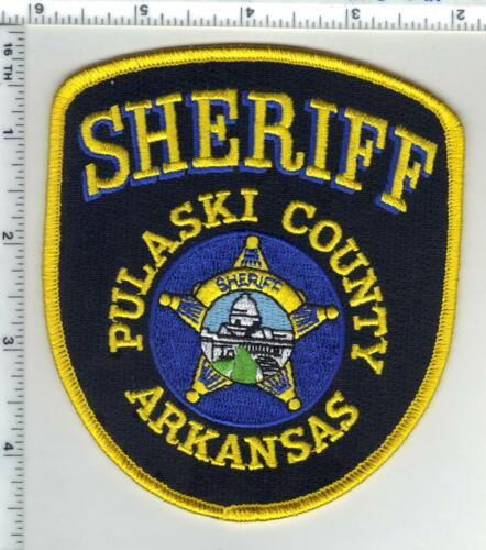 Pulaski County Sheriff (Arkansas) 3rd Issue Shoulder Patch
