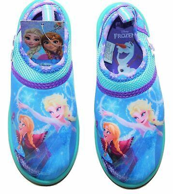 Disney Swim Shoes (DISNEY FROZEN ANNA& ELSA Swim Shoes Water Size 5-6,7-8,9-10,11-12)