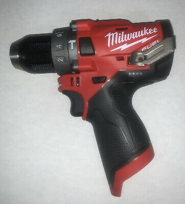 Milwaukee M12 Fuel Brushless Cordless 12 In. Hammer Drill 2504-20 Bare Tool