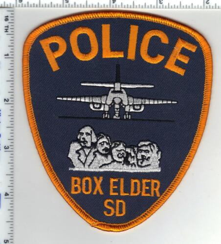 Box Elder Police (South Dakota) Shoulder Patch from the 1980