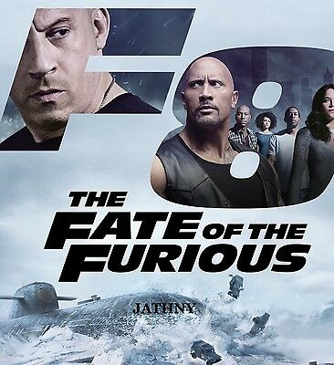 The Fate of The Furious (DVD, 2017, 1-Disc Set,) New Sealed Free Expedited