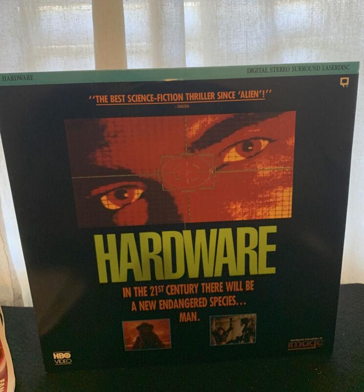 Hardware Laserdisc Rare Sci Fi Action