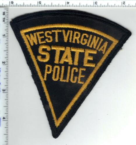 State Police (West Virginia) Shoulder Patch from a wall display - Early 1980