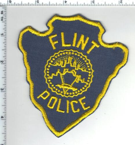 Flint Police (Michigan) 1st Issue Shoulder Patch