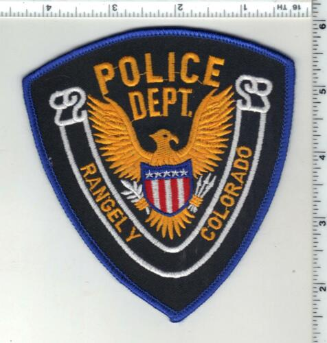 Rangely Police (Colorado) 2nd Issue Uniform Take-Off Shoulder Patch