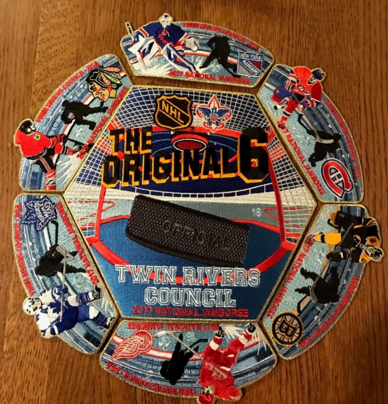 Original 6 NHL Numbered Edition TRC Jamboree ONLY 50 sets MADE!