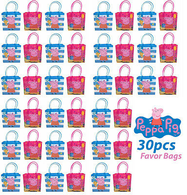 30pcs Peppa Pig Birthday Party Supply Favor Gift Bags Goodie Decoration](Peppa Pig Gift Bags)