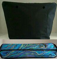 Interno O' Bag Sacca Canvas O Bag Classic, Mini Chic In Cotone Marmorizzato - inter - ebay.it