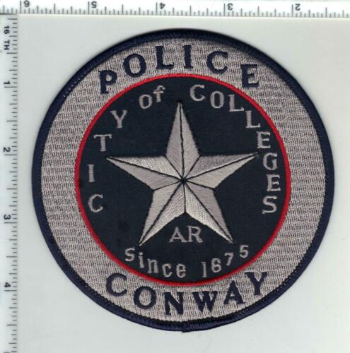 Conway Police (Arkansas) 2nd Issue Shoulder Patch