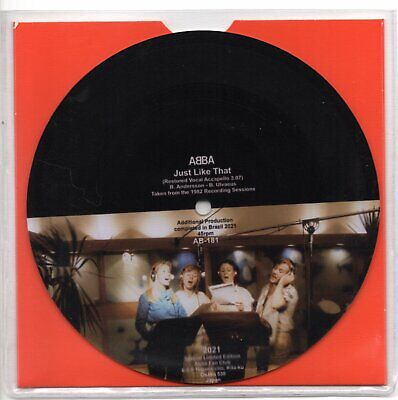 Abba Just Like That (Restored Vocal Acapella picture disc) (2021)