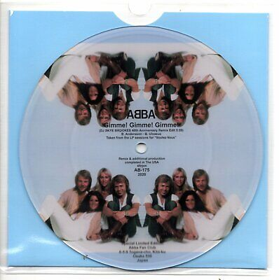 Abba Gimme Gimme Gimme 40th Anniversary remix picture disc (2020)