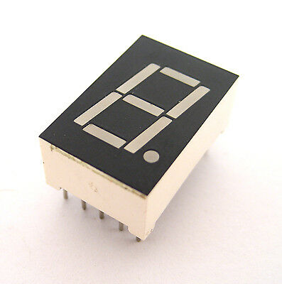 Common Cathode 7 Segment .50 X .75 Red Led Display Rhdp Senior Sec5010