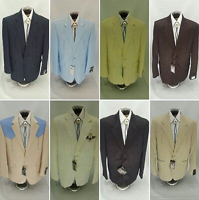 Western Suits-Blazer-Coat-Jacket Long Cowboy Rancher Suit 36/S NO TAX SELL