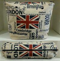 Saldi Interno Canvas Sacca O Bag Classic Mini Chic Tessuto Bandiera Inglese - inter - ebay.it