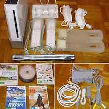 Wii Bundle with accessories & 26 games Modbury Tea Tree Gully Area Preview