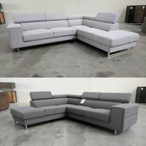 CORNER Fabric Lounge ( 2 Colour Options) Granville Parramatta Area Preview