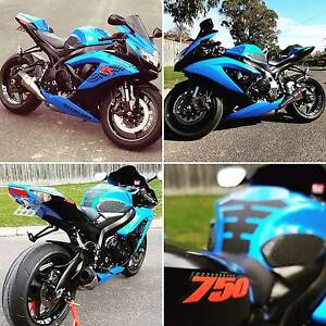 Swap for jetski!! Lambourghini blue gsxr. Worked 155bhp must see Somerville Mornington Peninsula Preview