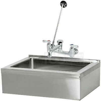 25 Floor Mop Sink W Faucet Commercial Stainless Steel Utility Drain Vacuum Nsf