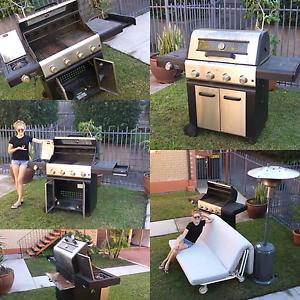 8 Burner Outdoor BBQ w/Wok & Halogen Lighting Yeronga Brisbane South West Preview