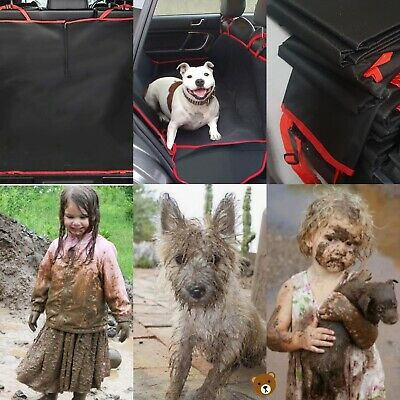 Waterproof Car Rear Seat Boot Cover,Child,Dog,Pet Protector,Hammock