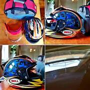 Bell Carbon Star Motorcycle Helmet - Rare colours mint condition Brunswick East Moreland Area Preview