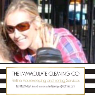 THE IMMACULATE CLEANING CO. COMMERCIAL & DOMESTIC.