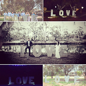 Wedding love sign Mildura Centre Mildura City Preview