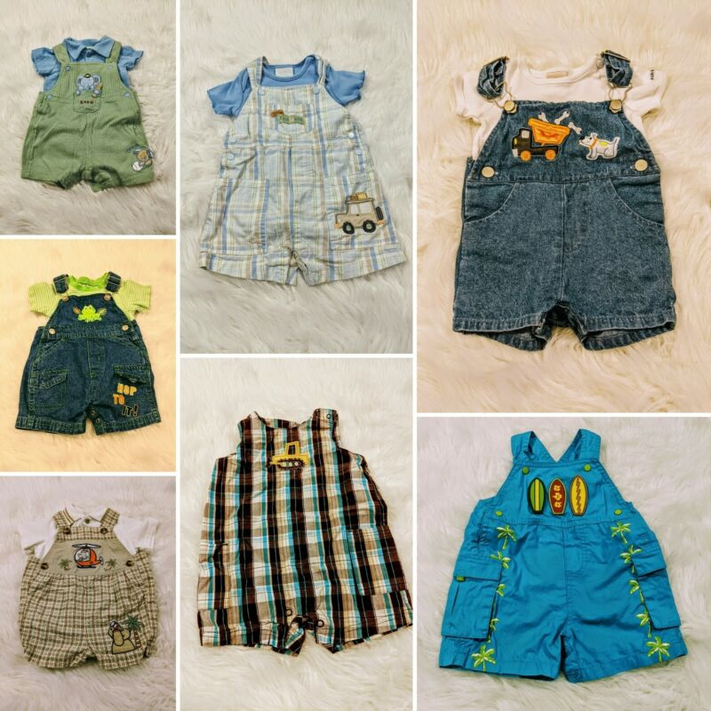 Baby Boy Size 3-6 Months Mixed Spring & Summer Clothing Lot
