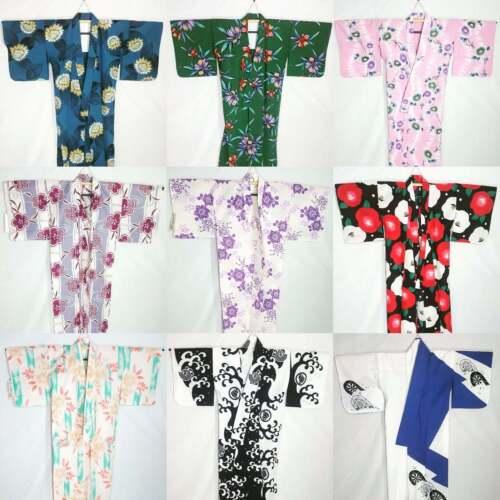 10 Japanese Kimono - Bulk Wholesale Wafuku Kitsuke