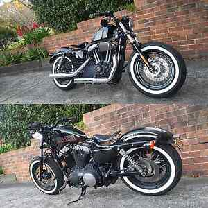 Harley Davidson forty-eight Castle Hill The Hills District Preview