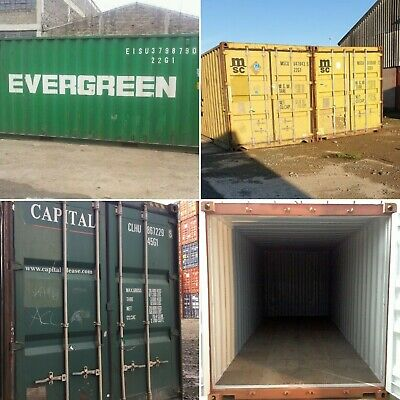 20ft 40ft Used Wind Watertight Shipping Containers. Newark From 1500
