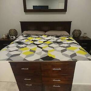 Full House Matching Madang Furniture - Bedroom, Office, Dining, T Mount Cotton Redland Area Preview