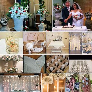Wedding decorations, props and dress fro sale $2,000 Liverpool Liverpool Area Preview