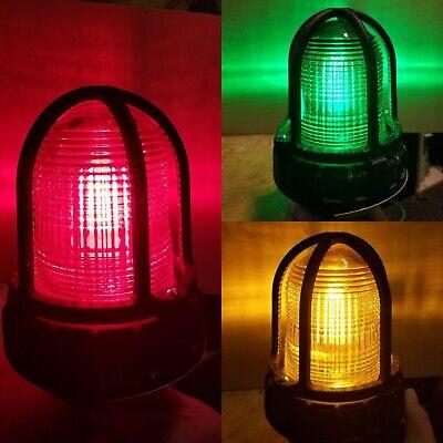 Federal Visual Signal 191xl-120-240c Led Hazloc Signal Light 100-265v 34 Npt