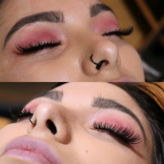 Lash extensions high quality