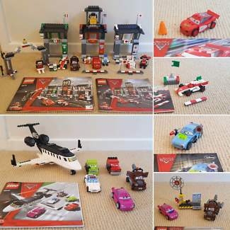 6 Disney Cars 2 Lego sets
