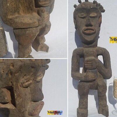 SENSATIONAL RARE Mambila Suaga Figure Statue Sculpture Mask Tribal African Art