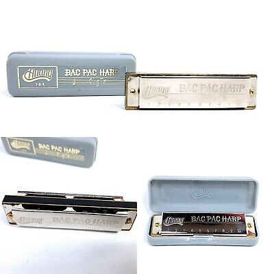 63000651 Bright RED Hohner Music Fun Harmonica in Key of C