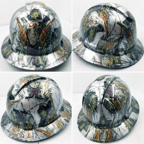 FULL BRIM Hard Hat custom hydro dipped , NEW DIRTY DIRTY HARRY NEW 7
