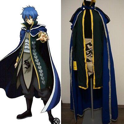 Fairy Tail Anime Cosplay / Costume Herren Gerade / Jellal Gr. - Jellal Cosplay Kostüm