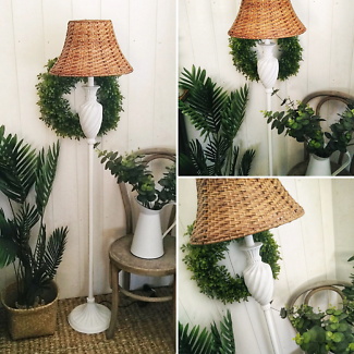 Elegant Hamptons Style Floor Lamp