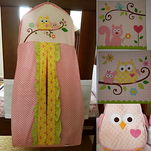 Girls Owl/Butterfly  Themed Girls Nursary Plus Extras Bedfordale Armadale Area Preview