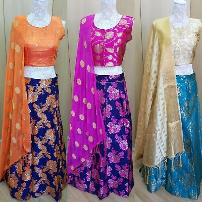 Indian Bollywod Designer stitched salwar kameez saree dress Lehenga Choli Suits. - Saree Collection