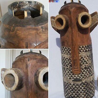 PRESTIGIOUS Bapende Pende Pinji Mask Figure Statue Sculpture Tribal African Art