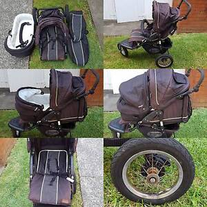 Beema Q 3-wheel pram Freshwater Manly Area Preview