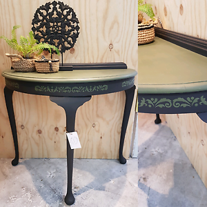 Solid timber hall table Little Mountain Caloundra Area Preview